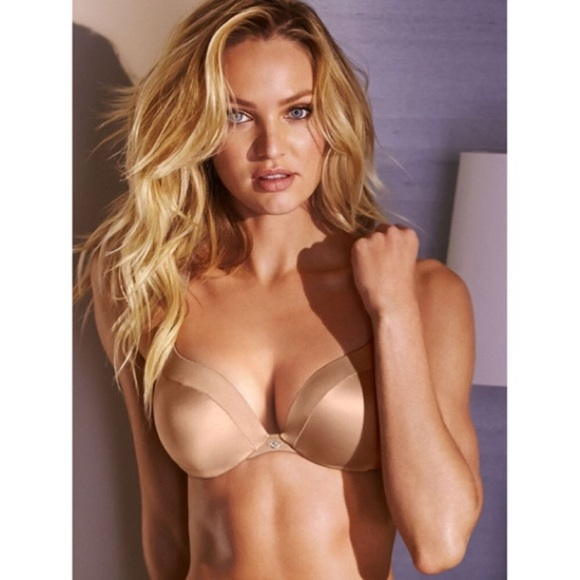 97a825dc79 VICTORIA S SECRET So Obsessed Nude Push Up Bra 32B.  M 5ab95b2005f430742529a05f